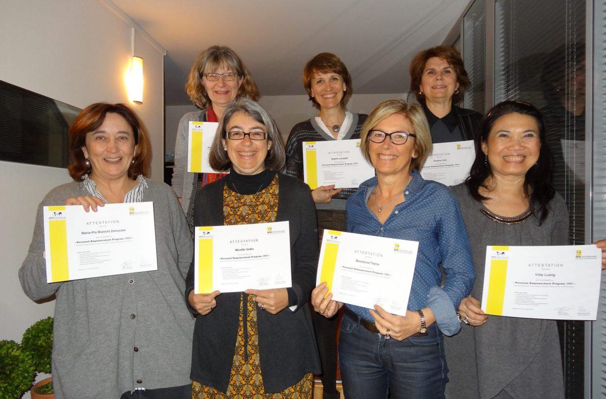 PEP Training - BPW Genève 2015