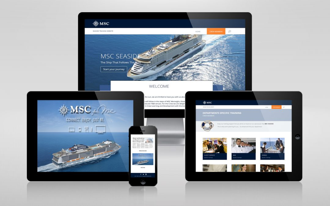 E-learning MSC Meraviglia & Seaside